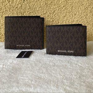 🎊HP🎊 🆕 Michael Kors Cooper Bifold Wallet